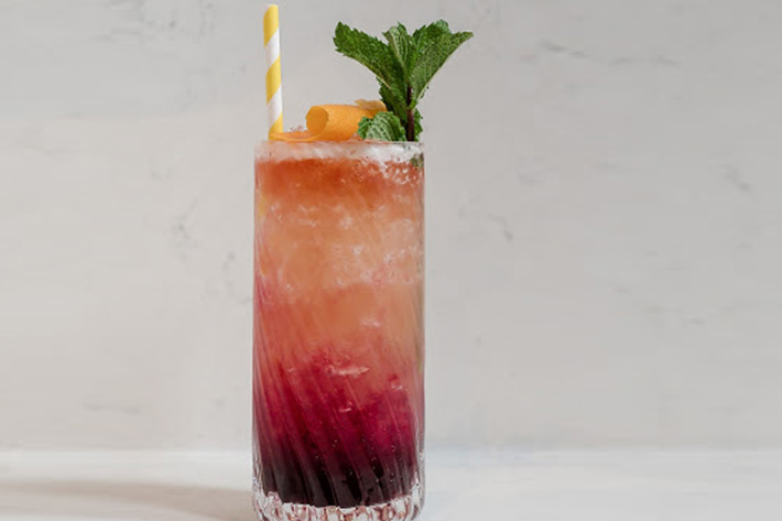 Sorrel Distancing summer cocktail