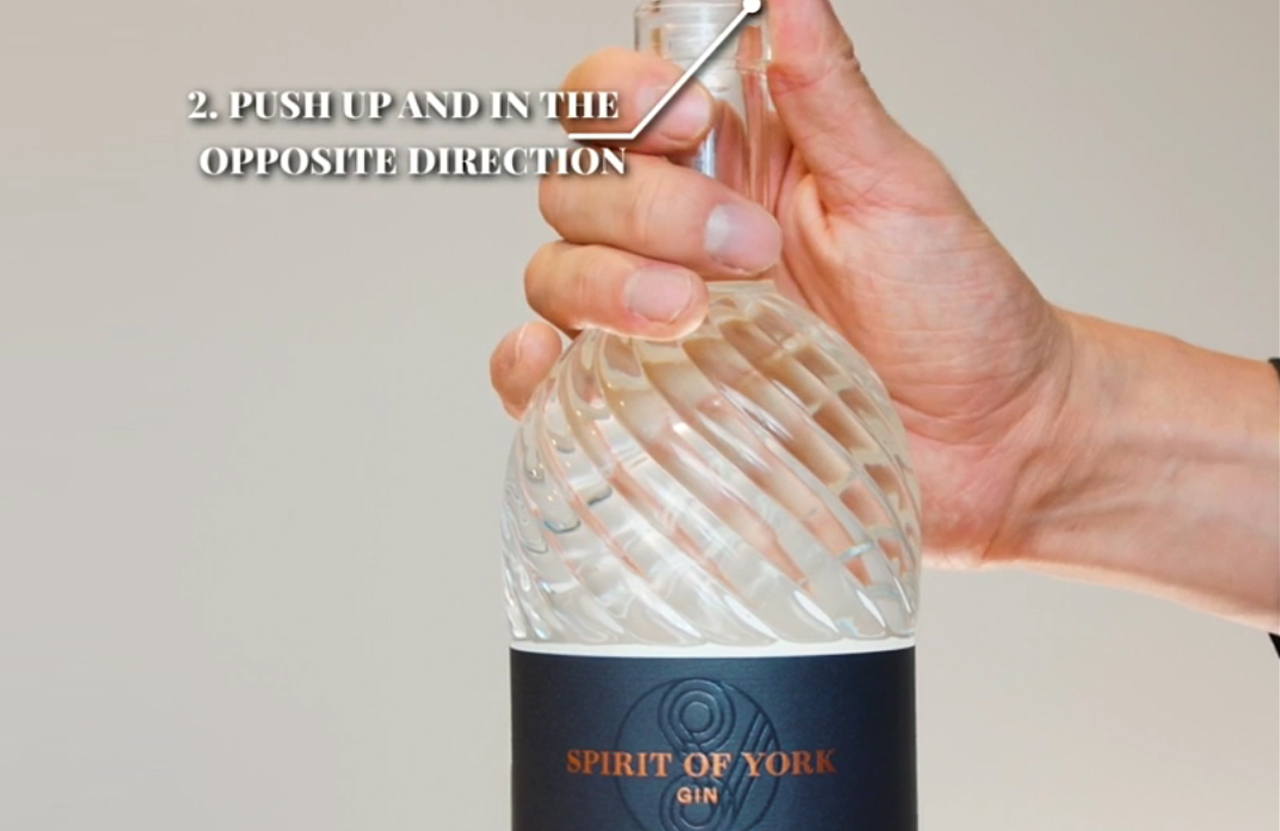 How To Open A Spirit of York Bottle